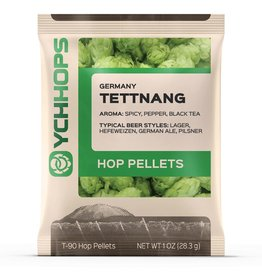 Hops German Tettnang Hop Pellets 1 Oz