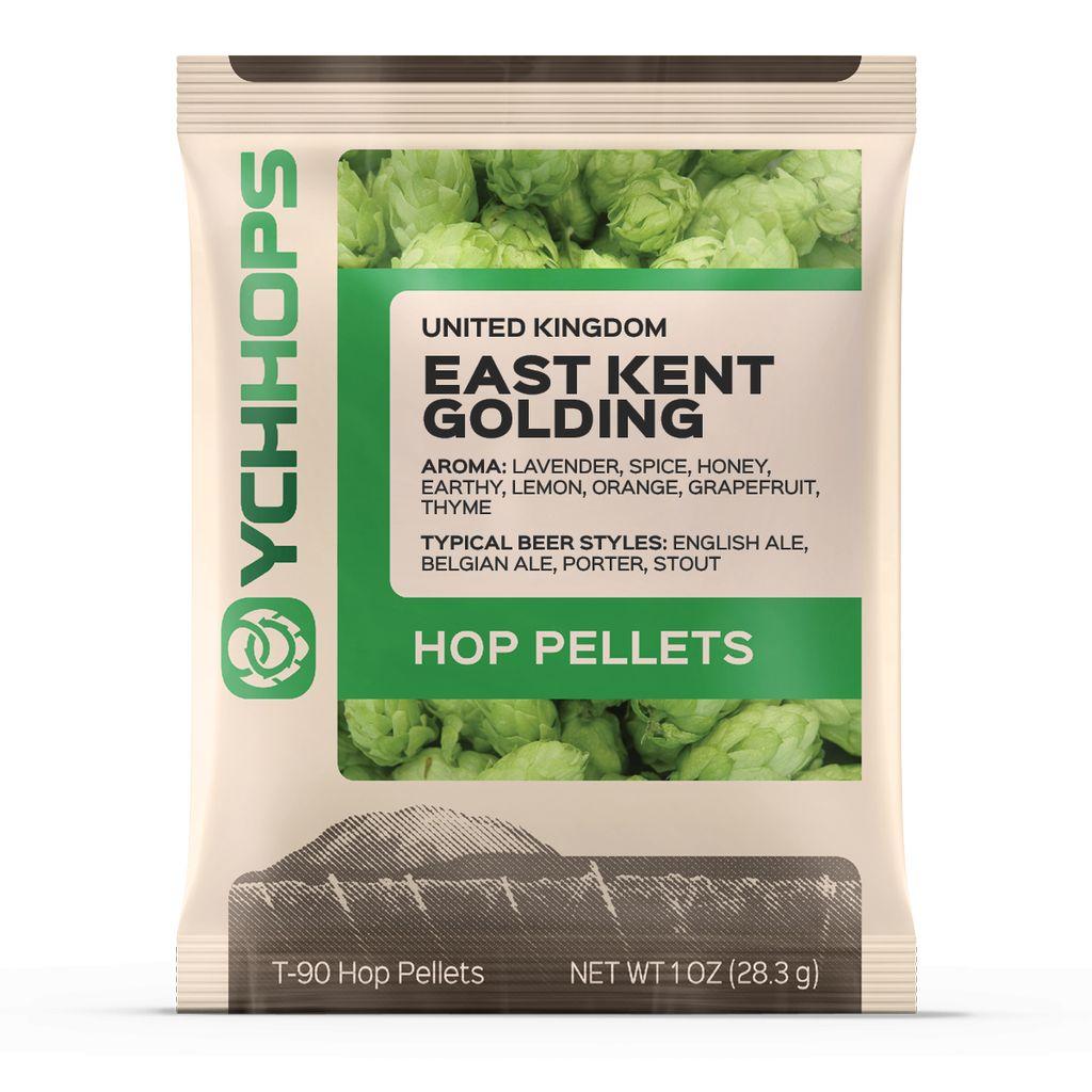 Hops UK Kent Golding Hop Pellets 1 Oz