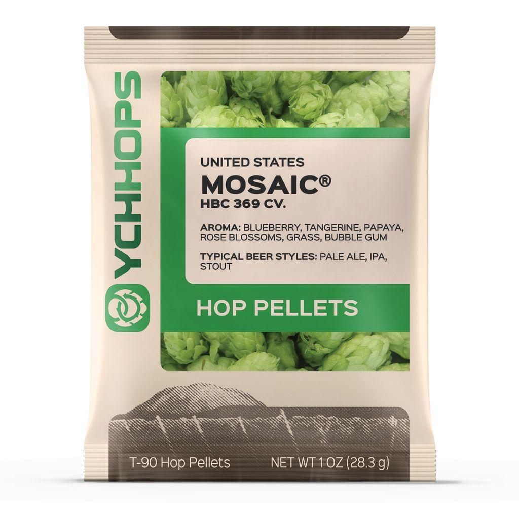 Hops US Mosaic Hop Pellets 1 Oz