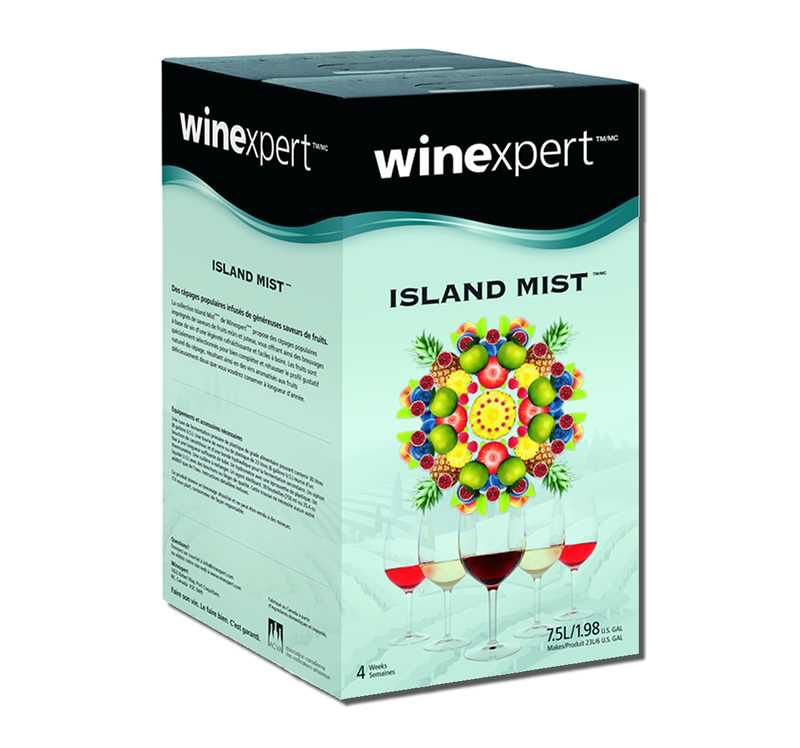 Winexpert Island Mist White Cranberry Pinot Gris 7.5L