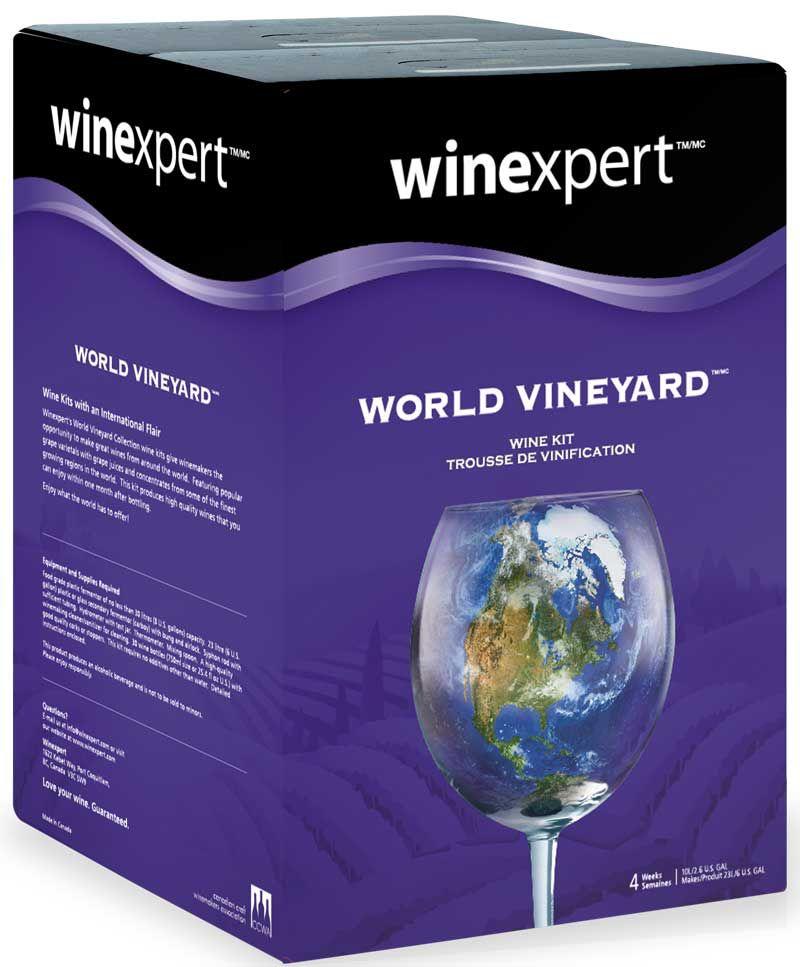 Winexpert World Vineyard Australian Cabernet Sauvignon Grape Skin 12L