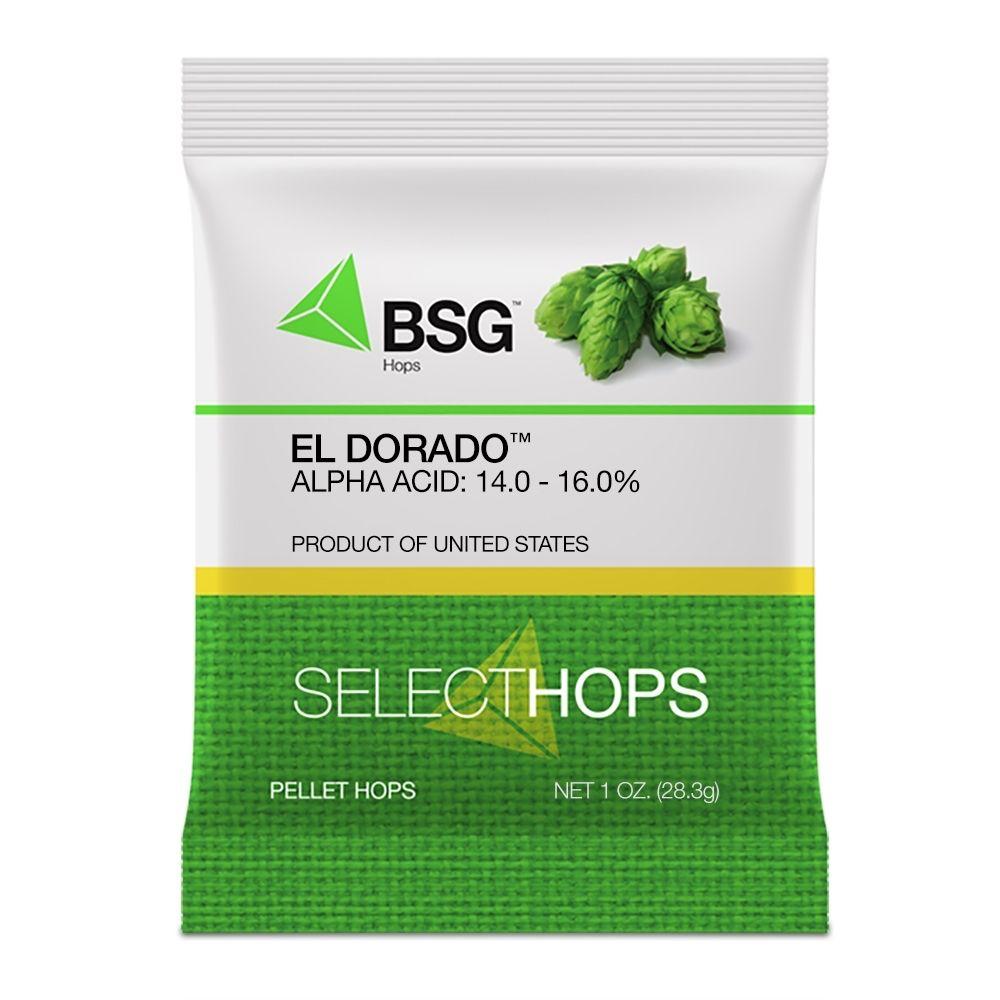 Hops El Dorado Hop Pellets 1 Oz