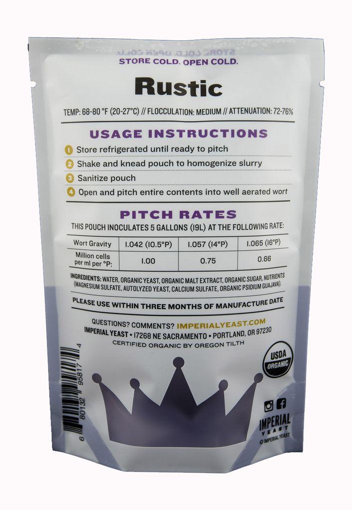 Imperial Imperial Liquid Yeast Rustic Belgian Farmhouse B56
