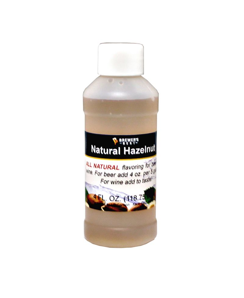 LDC Hazelnut Flavoring Extract 4 Oz Natural Flavors