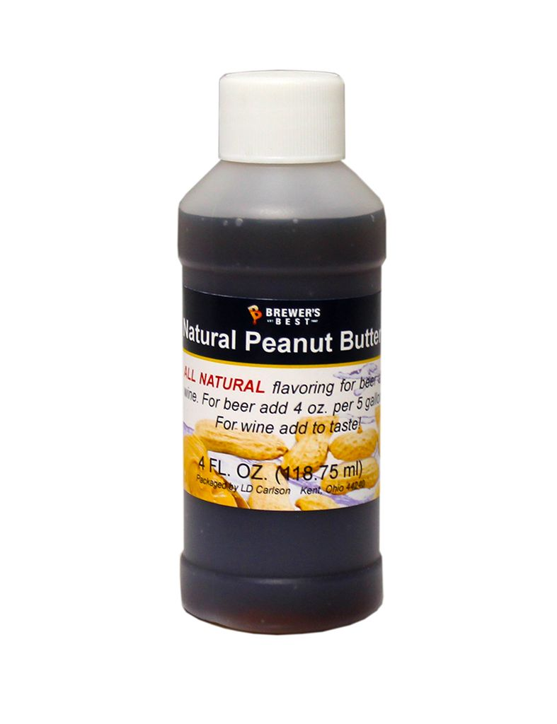 LDC Peanut Butter Flavoring Extract 4 Oz Natural Flavors