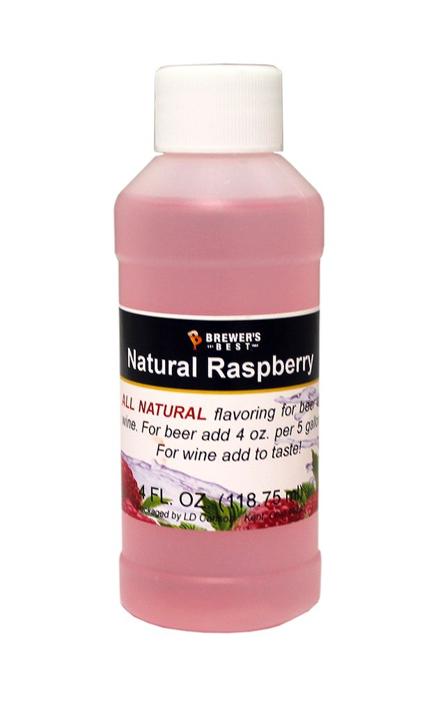 LDC Raspberry Flavoring Extract 4 Oz Natural Flavors