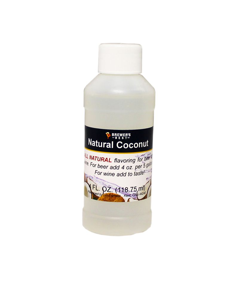 LDC Coconut Flavoring Extract 4 Oz Natural Flavors