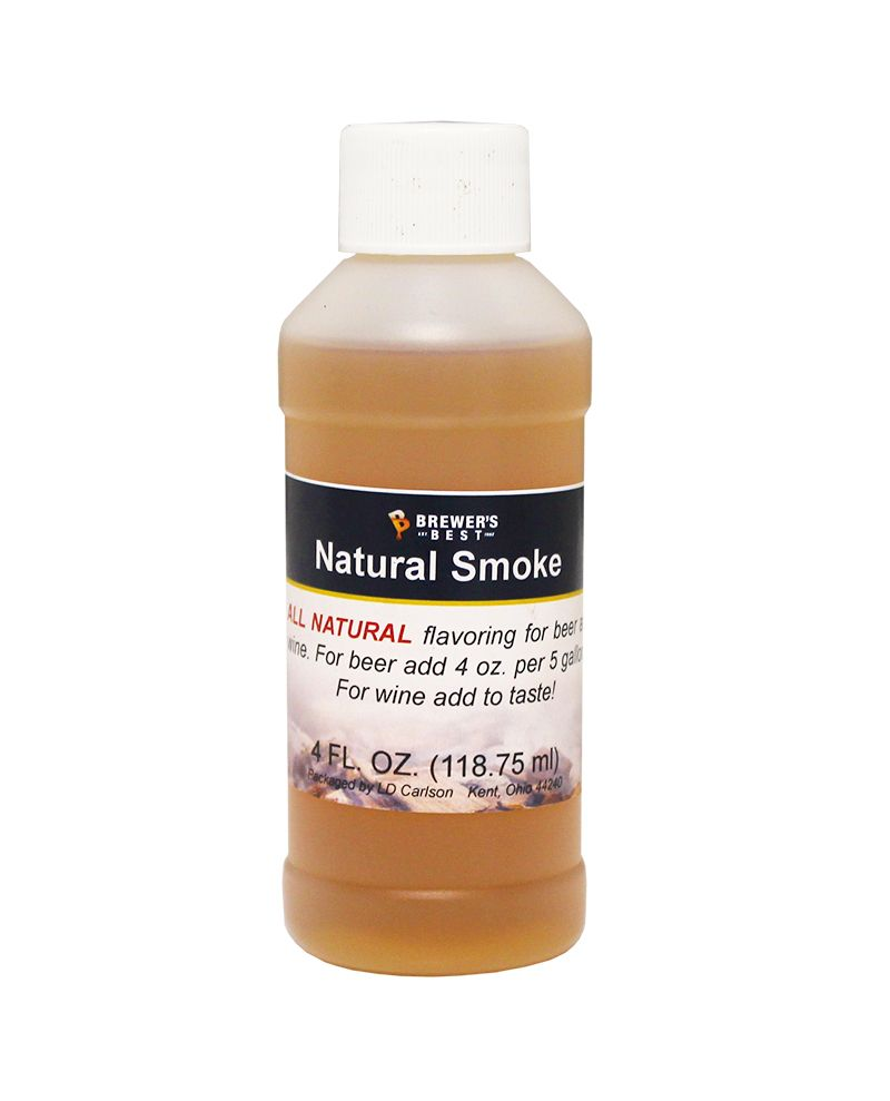 LDC Smoke Flavoring Extract 4 Oz Natural Flavors