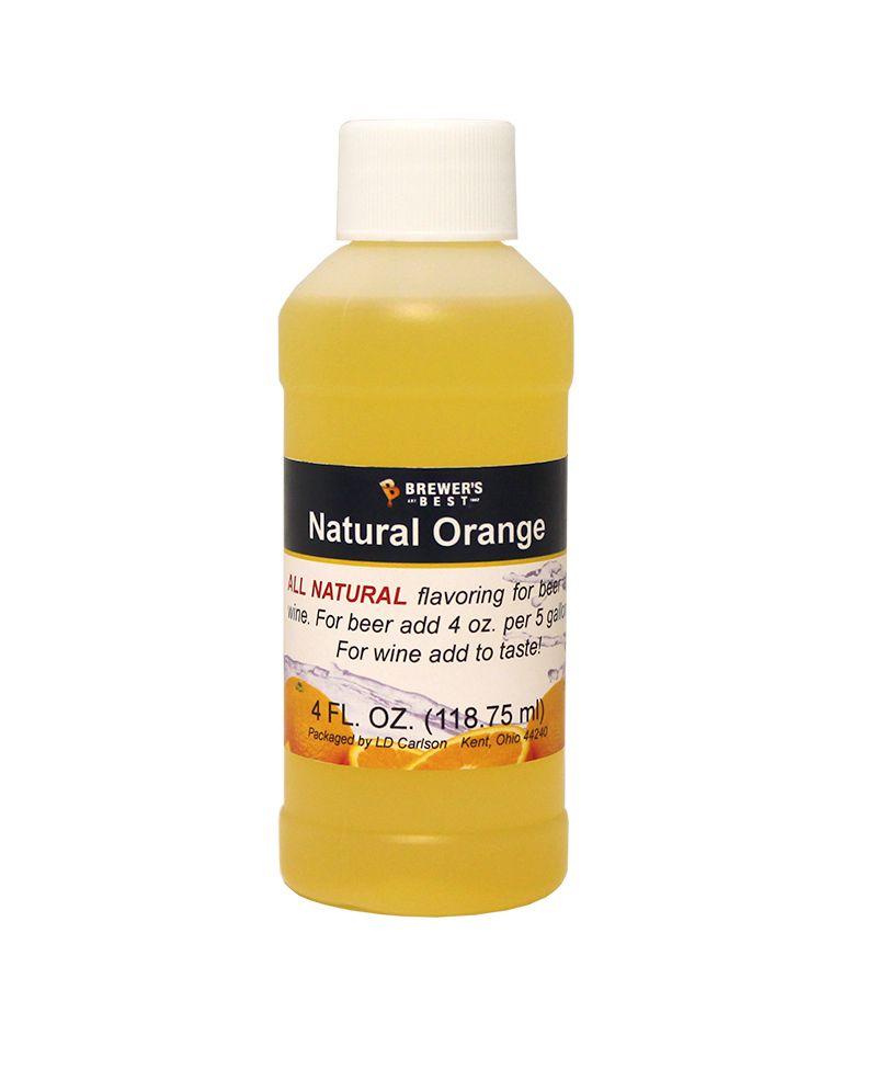 LDC Orange Flavoring Extract 4 Oz Natural Flavors