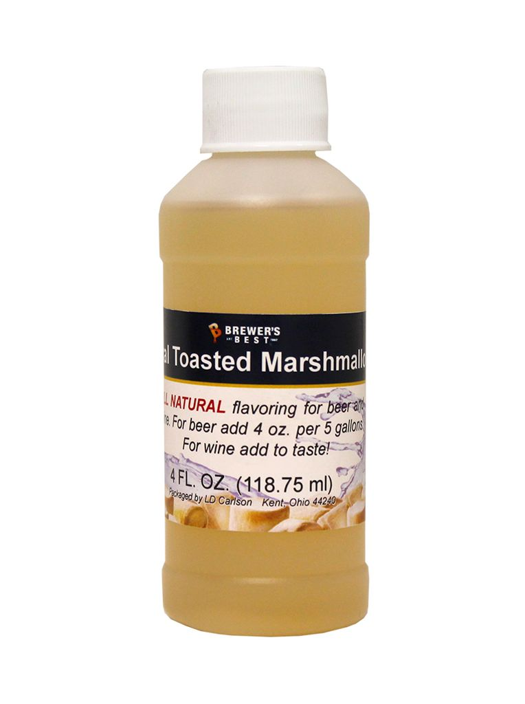LDC Toasted Marshmallow Flavoring Extract 4 Oz Natural Flavors