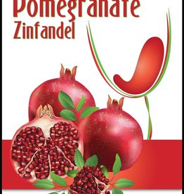 Winexpert Island Mist Pomegranate Mist Wine Labels 30/pack