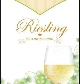 LDC Riesling Wine Labels 30/pack