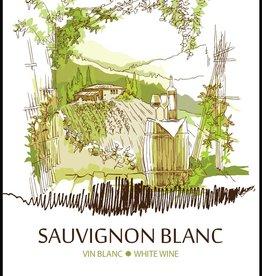 LDC Sauvignon Blanc Wine Labels 30/pack
