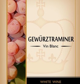 LDC Gewurtztraminer Wine Labels 30/pack