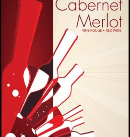 LDC Cabernet Merlot Wine Labels 30/pack