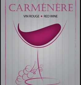 LDC Carmenere Wine Labels 30/pack