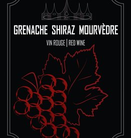 LDC Grenache Shiraz Mourvedre Wine Labels 30/pack