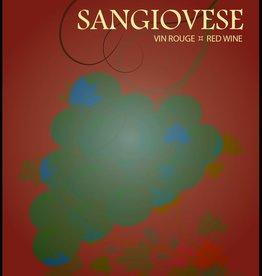 LDC Sangiovese Wine Labels 30/pack