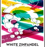 LDC White Zinfandel Wine Labels 30/pack