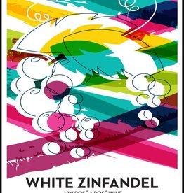 LDC White Zinfandel Wine Labels 30/pack