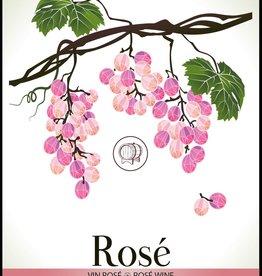LDC Rose Wine Labels 30/pack