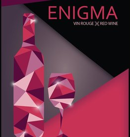 LDC Enigma Wine Labels 30/pack