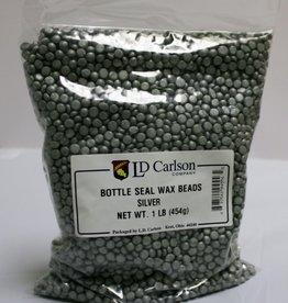 LDC Silver Bottle Seal Wax Beads (1 Lb)