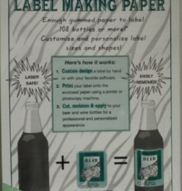 LDC Green Label-making Paper Pk/18