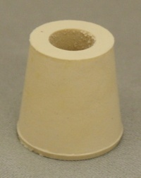 LDC #3 Drilled Rubber Stopper