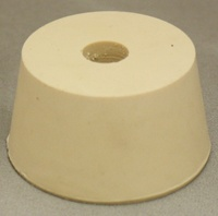 LDC #9.5 Drilled Rubber Stopper