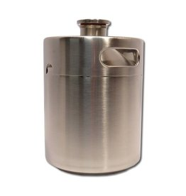 Deep Wood Brew Products Stainless Steel Growler