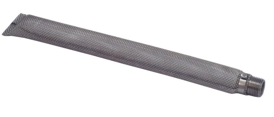 "LDC 12"" Stainless Steel Torpedo Screen 1/2"" NPT"