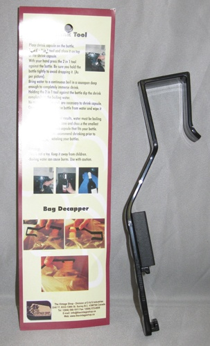 LDC Shrink Tool/Bag Decapper Combo