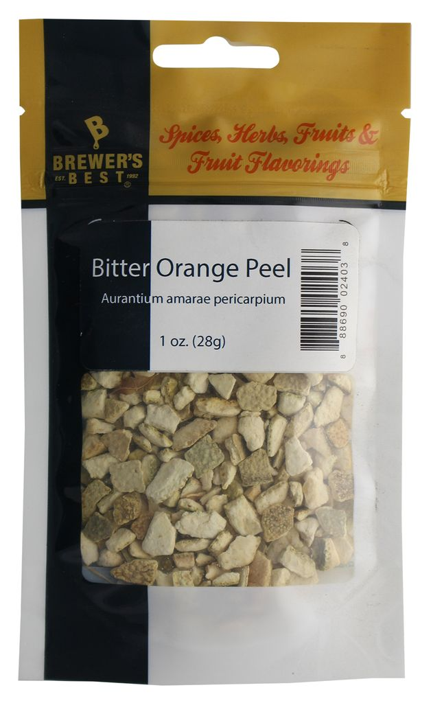 Brewers Best Brewer's Best Bitter Orange Peel 1 Oz