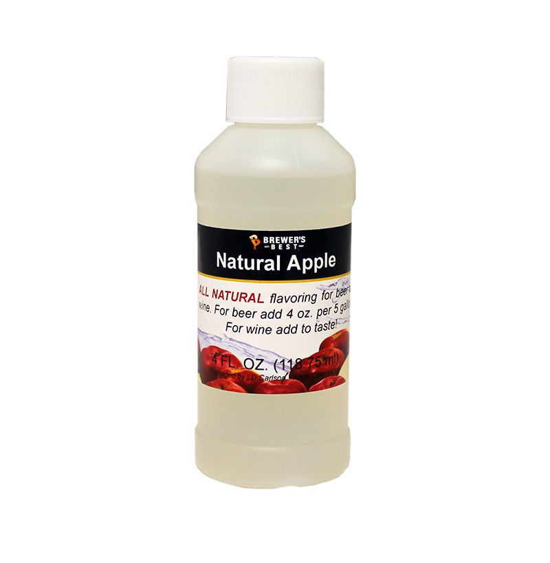 LDC Apple Flavoring Extract 4 Oz Natural Flavors