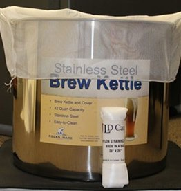 "LDC Nylon Straining Bag ""Brew in a Bag"""