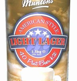 LME Muntons American Light Malt Extract - 1 Tin