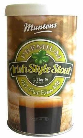 LME Muntons Irish Stout Malt Extract - 1 Tin