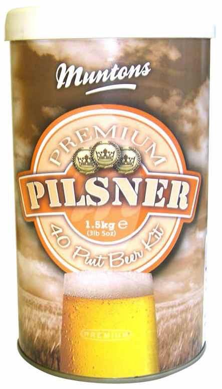 LME Muntons Pilsner Malt Extract - 1 Tin