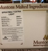 DME Muntons 55 Lb Plain Extra Light Spray Dried Malt Extract