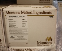 DME Muntons 55 Lb Plain Light Spray Dried Malt Extract