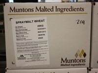 DME Muntons 55 Lb Plain Wheat Spray Dried Malt Extract