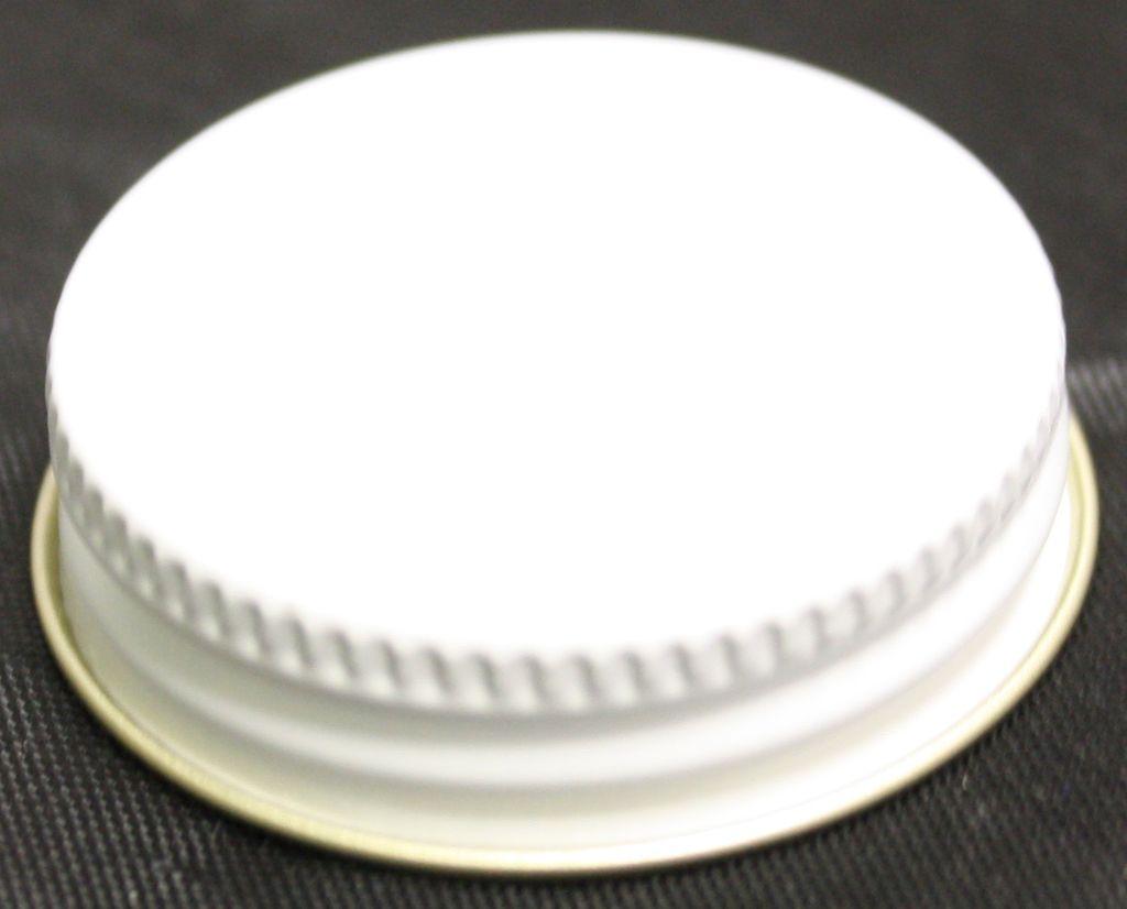 LDC 38mm Metal Screw Caps Single Gummed