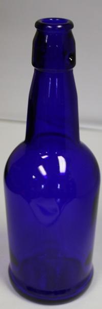 LDC Cobalt Blue 16 Oz EZ Cap Bottles Single