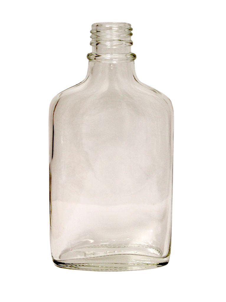 200 ml (7 oz) Flint Glass Flask Single