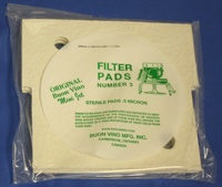 Buon Vino Buon Vino Filter Mini Pad #3 Super Sterile Micron .5 (Pkg of 3)
