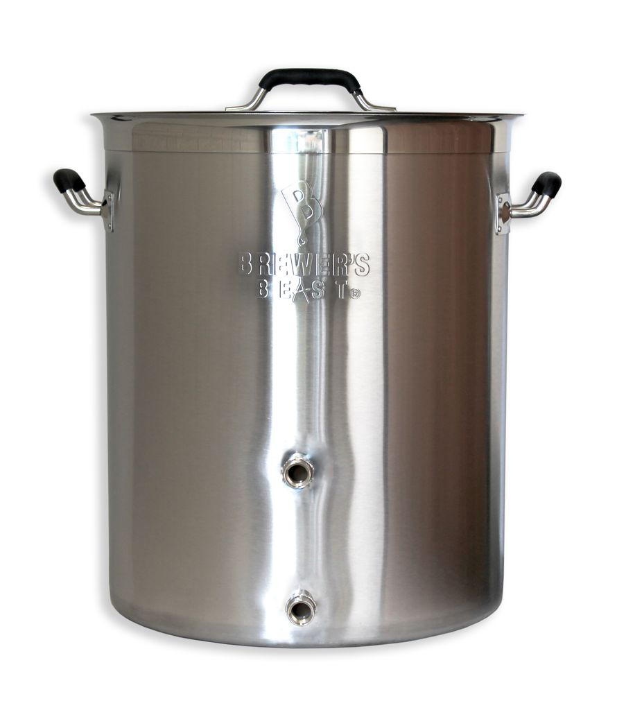 Brewers Best Brewer's Beast Brewing Kettle 16 Gallon Two Ports