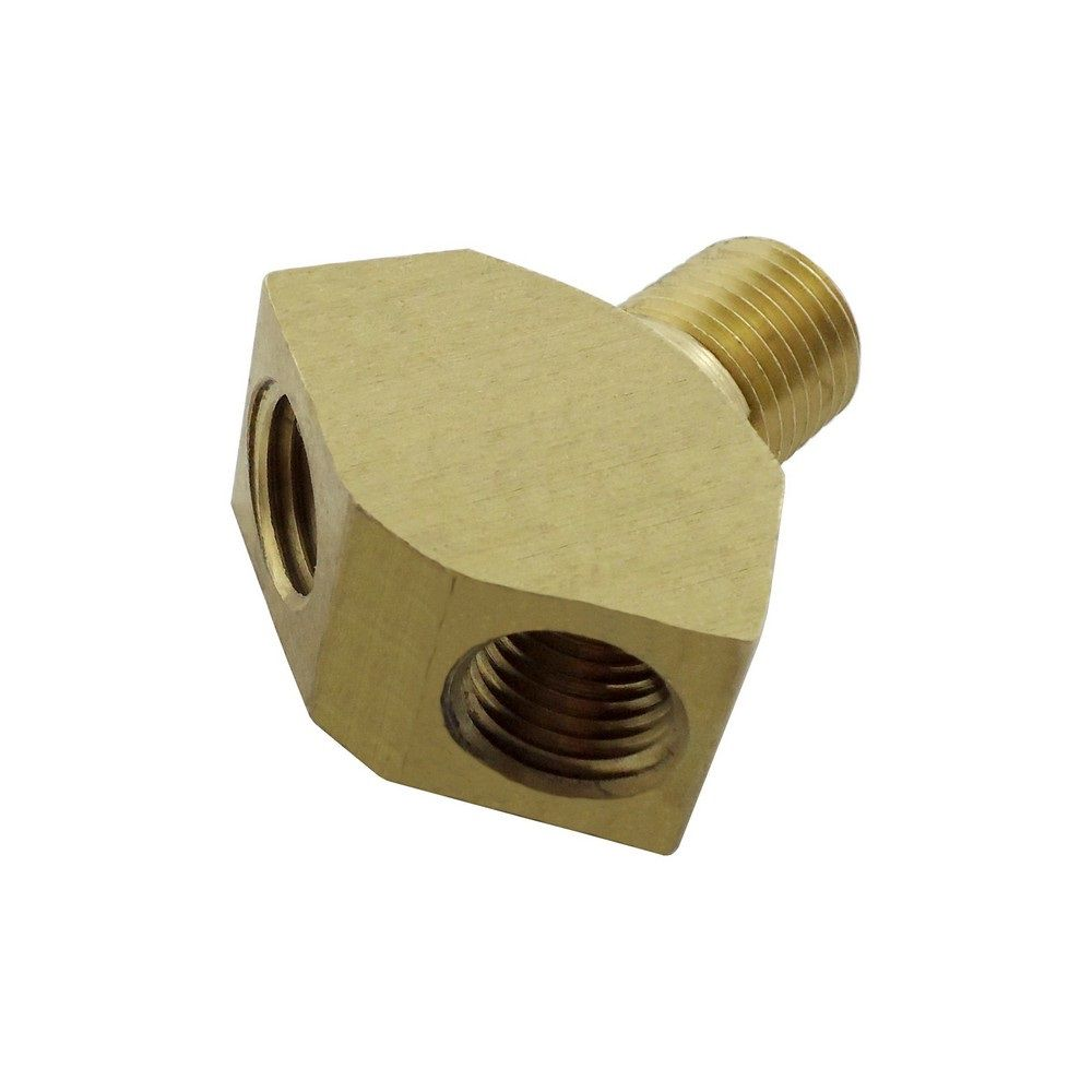 1/4 MPT X 1/4 FPT Y Brass