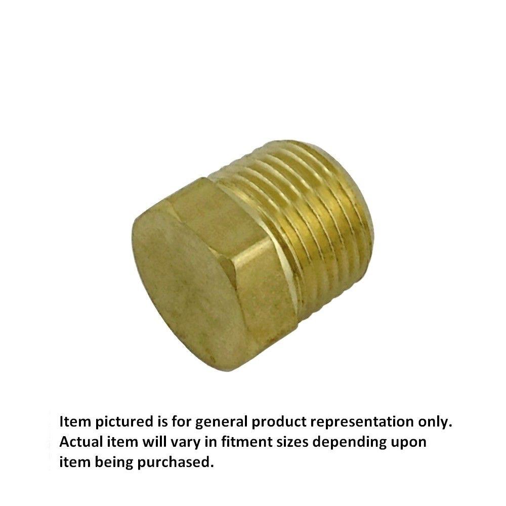 1/4 MPT Brass Plug