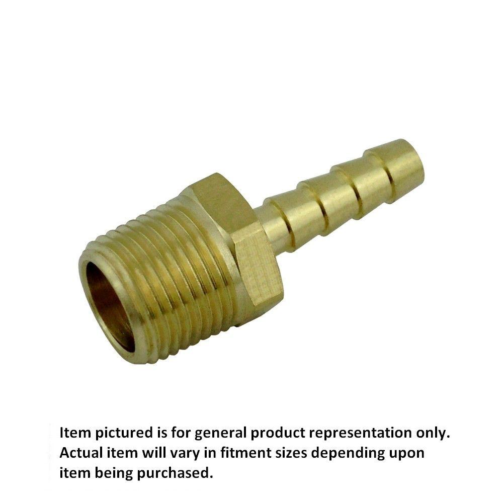 1/2 MPT X 3/8 Barb Brass